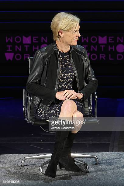 President of Planned Parenthood Federation of America and Planned Parenthood Action Fund Cecile Richards speaks onstage at Standing Her Ground during...