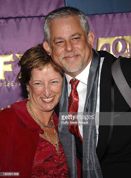 President of Production at Fox Searchlight Claudia Lewis and producer Steven Wolfe attends Fox's 2010 Golden Globes Awards Party at Craft on January...