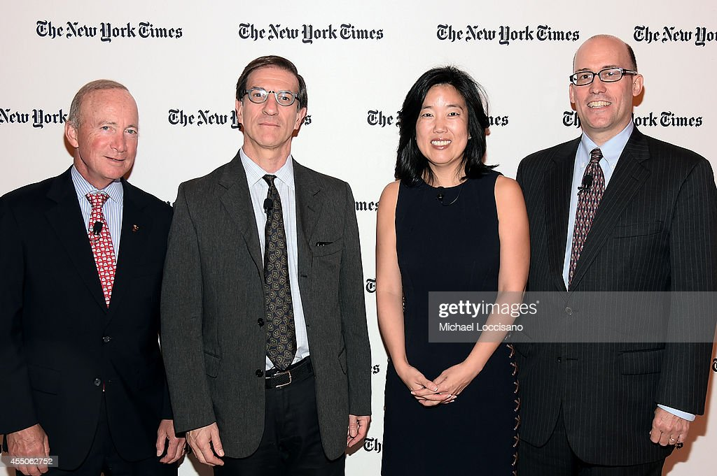 The New York Times 2014 Schools For Tomorrow Conference : ニュース写真