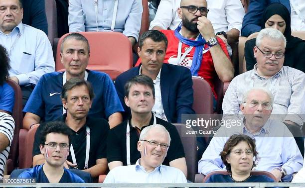 President of RC Strasbourg Mark Keller attends the 2018 FIFA World Cup Russia Final match between France and Croatia at Luzhniki Stadium on July 15...