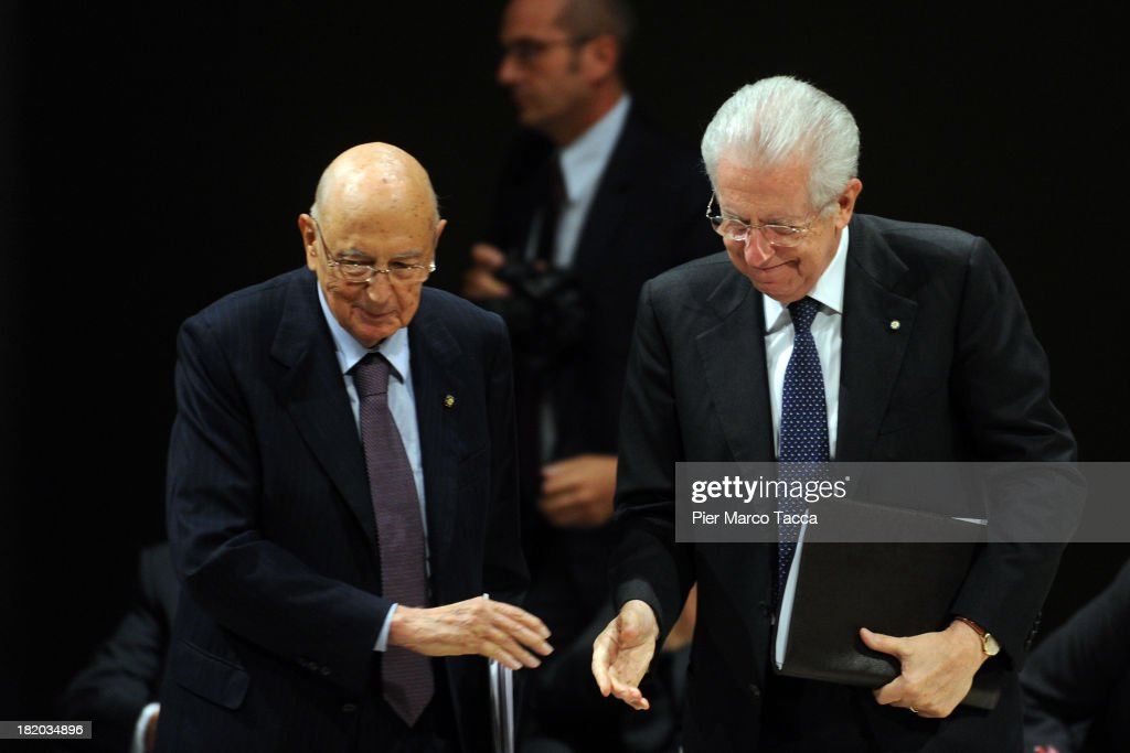 Tribute To Late Former Economist And Lawmaker Luigi Spaventa : News Photo