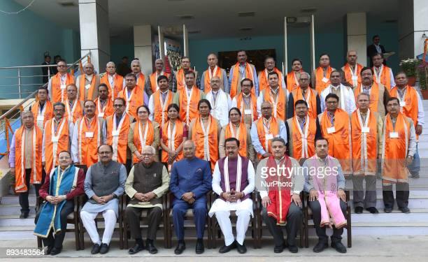 President of republic of India Mr Ram Nath Kovind Governer of Uttar Pradesh Ram Naik and state politicians attend 14th convocation ceremony of MNNIT...