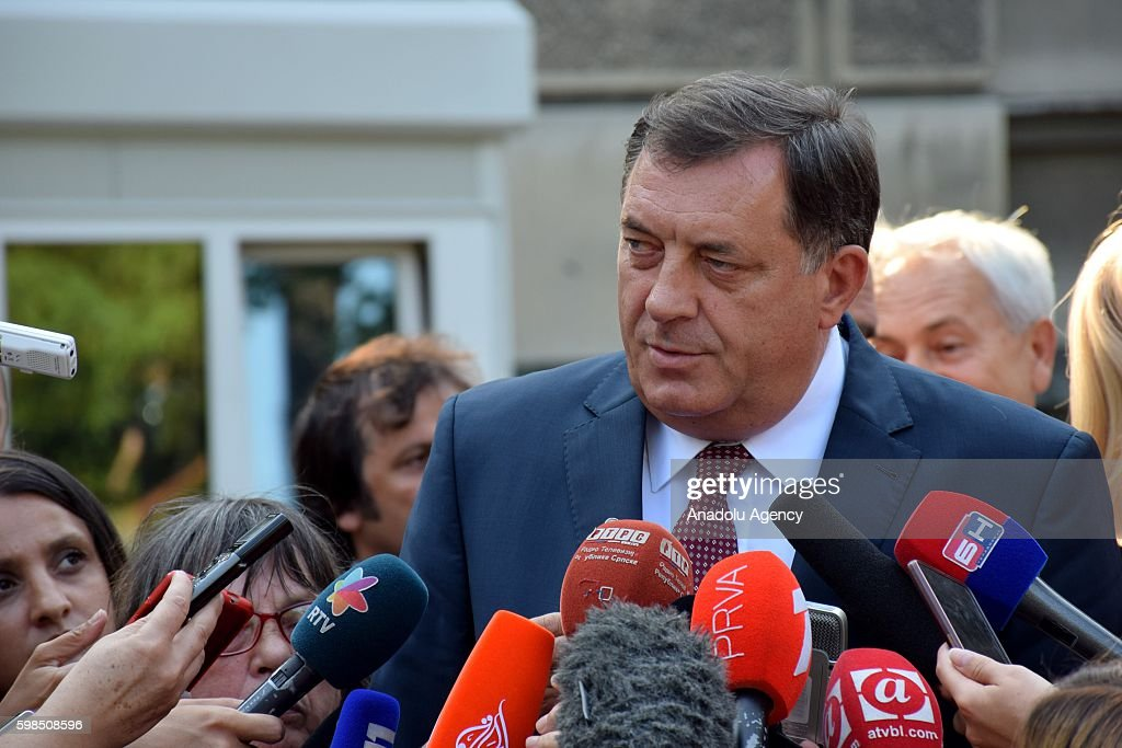 A controversial referendum in Bosnia-Herzegovina : News Photo