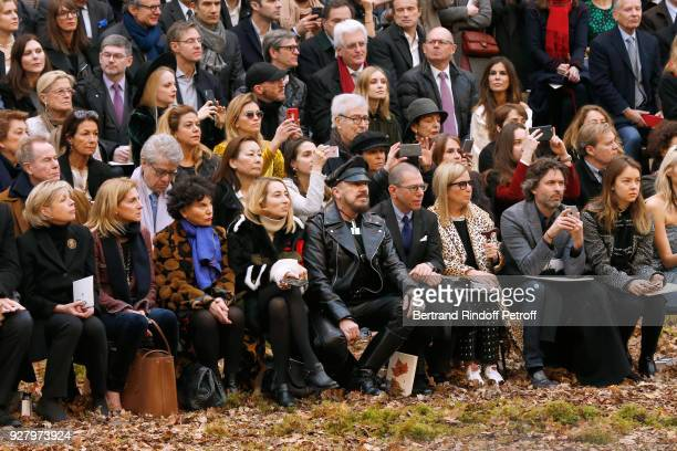 President of Reunion des Musees Nationaux Sylvie Aubac Ambassador of USA to Paris Jamie McCourt Monique Lang Alexandra Golovanoff Peter Marino...