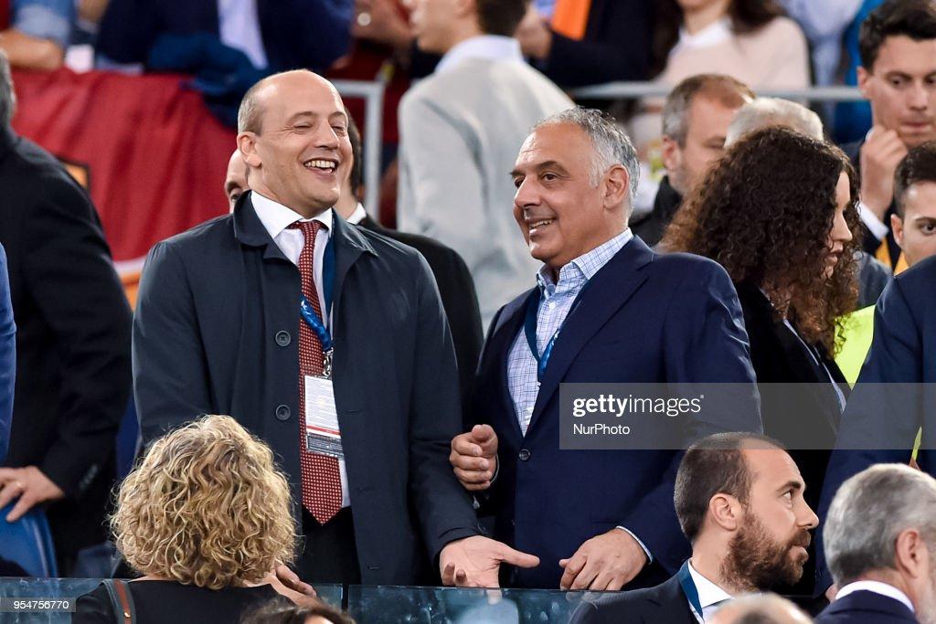 Roma v Liverpool UEFA Champions League 2/05/2018. : News Photo