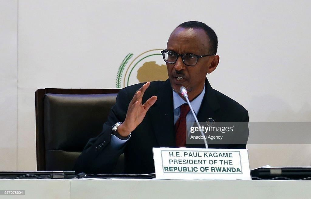 27th African Union Summit : News Photo