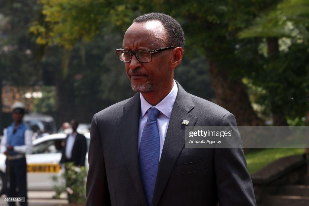President of Rwanda Kagame in Ethiopia : News Photo
