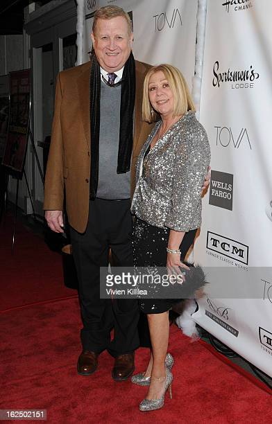 President of SAG Ken Howard and Nancee Borgnine attend The Borgnine Movie Star Gala at Sportsmen's Lodge Event Center on February 23 2013 in Studio...