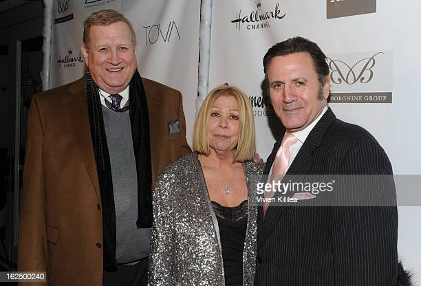 President of SAG Ken Howard Nancee Borgnine and Frank Stallone attend The Borgnine Movie Star Gala at Sportsmen's Lodge Event Center on February 23...
