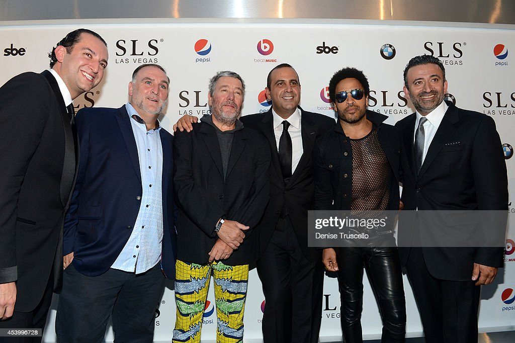 SLS Las Vegas Grand Opening Celebration