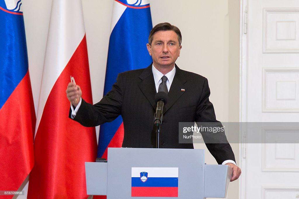 President of Slovenia Borut Pahor visit Poland