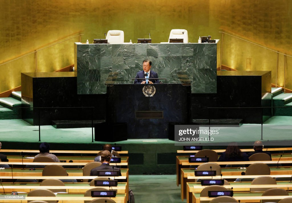 UN-DIPLOMACY-GENERAL ASSEMBLY : News Photo