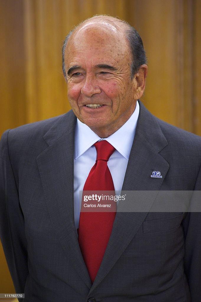 "Spanish Royals Receive Members Of ""Colegios del Mundo Unido"" Foundation At Zarzuela Palace"