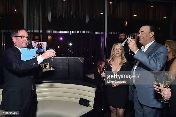 President of Spike TV Kevin Kay Nicole Taffer and host of Bar Rescue Jon Taffer attend Spike's Bar Rescue 100th Episode Celebration with Jon Taffer...