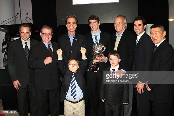 President of Sports Illustrated Group Mark Ford Editor of Sports Illustrated Group Terry McDonell Chairman of Special Olympics Bobby Shriver Special...