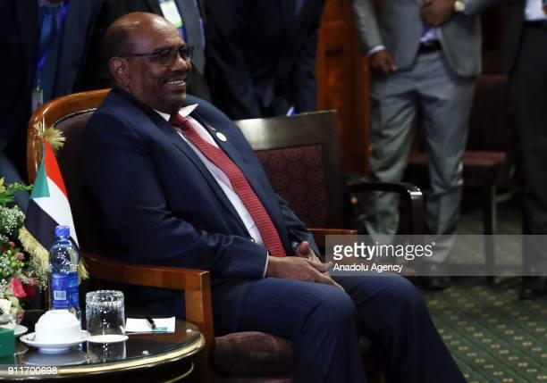 President of Sudan Omar Al-Bashir, Prime Minister of Ethiopia Hailemariam Desalegn , President of Egypt Abdel Fattah el-Sisi attend a meeting on Nile...
