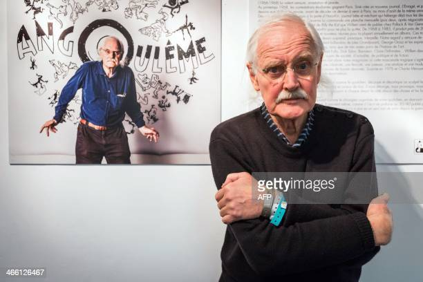 President of the 41st edition of the 'Festival international de la bande dessinee' Dutch comic book author Bernard Willem Holtrop aka Willem poses...