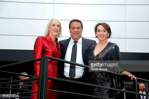 President of the Academy of Art University Elisa Stephens attends the Academy Of Art University Spring 2015 Collections during MercedesBenz Fashion...