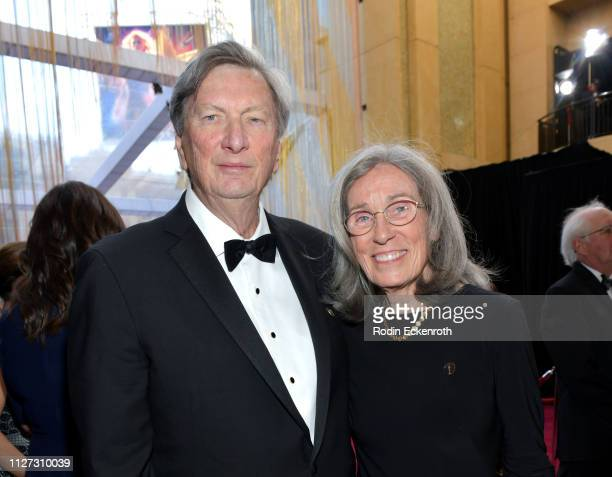 President of the Academy of Motion Picture Arts and Sciences John Bailey and Film Editor Carol Littleton attend the 91st Annual Academy Awards at...