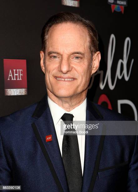 President of the AIDS Healthcare Foundation Michael Weinstein attends the AHF World AIDS DAY Concert and 30th Anniversary Celebration at the Shrine...