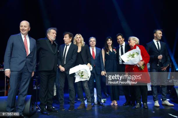 President of the Association for Alzheimer Research Doctor Olivier de Ladoucette Eddy Mitchell Alain Souchon Sandrine Kiberlain Chairman of the...