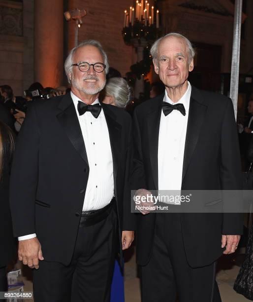 President of the Berggruen Institute Craig Calhoun and 2016 Berggruen Prize Winner Charles Taylor attend the Berggruen Prize Gala at the New York...