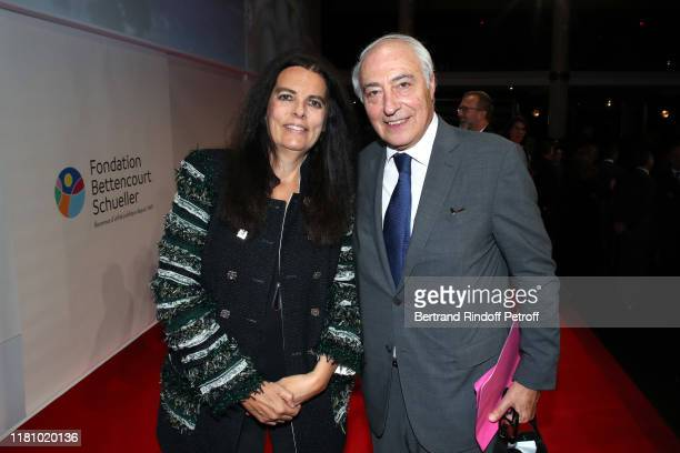President of the Bettencourt Schueller Foundation Francoise Bettencourt Meyers and her husband Vice President of the Bettencourt Schueller Foundation...