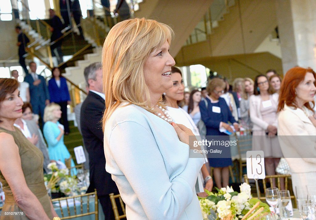 President of The Blue Ribbon, Julie Goldsmith attends the Blue Ribbon of the Los Angeles Music Center honoring Princess Charlene of Monaco at Grand Hall at the Dorothy Chandler Pavililon on May 12, 2016 in Los Angeles, California.