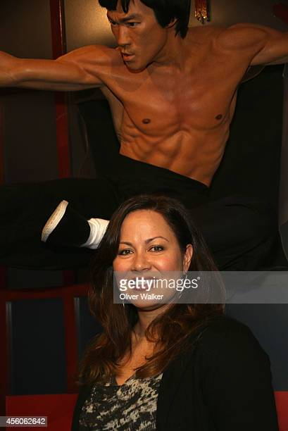President of the Bruce Lee Foundation Shannon Lee attends Madame Tussauds Hollywood Unveiling of the New Bruce Lee Figure at Madame Tussauds on...