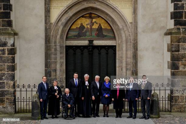 President of the Bundesrat and mayor of Berlin Michael Mueller Bishop of the Evangelical Church in Central Germany Ilse Junkermann President of the...