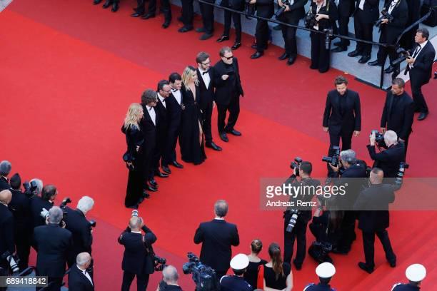 President of the Camera d'Or jury Sandrine Kiberlain Camera d'Or jury members Fabien Gaffez Patrick Blossie Elodie Bouchez Thibault Cartero and...