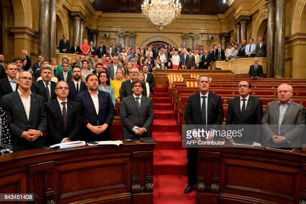 President of the Catalan Government Carles Puigdemont Catalan regional vicepresident and chief of Economy and Finance and leader of the Esquerra...