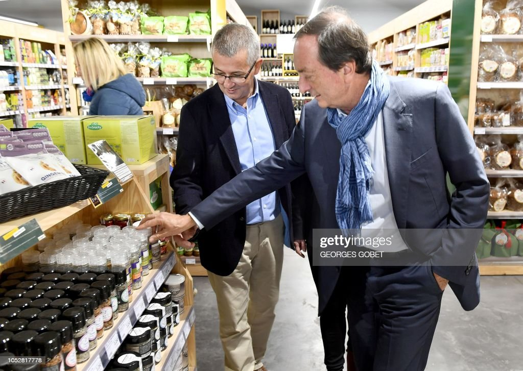 President of the Centres E Leclerc hypermarket chain, Michel