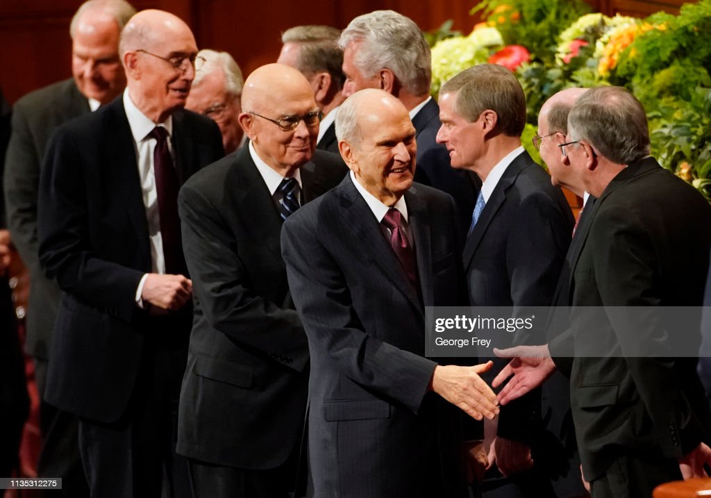 Worldwide Mormon Conference Convenes In Salt Lake City : News Photo