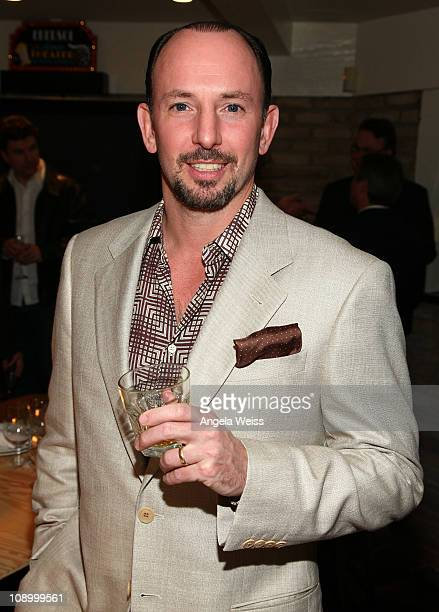 President of The Company Justin Hockberg attends the Friends N Family Dinner at The Jack Warner Estate on February 10 2011 in Los Angeles California