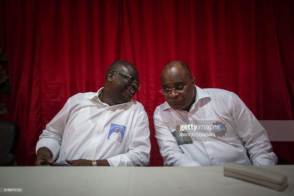 CONGO-POLITICS-ELECTIONS : News Photo