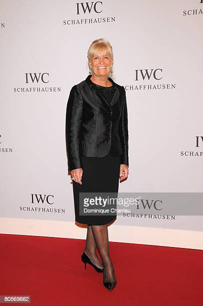 President of the Cousteau Society Francine Cousteau attends 'The Crossing' gala event hosted by IWC Schaffhausen held at the Geneva Palaexpo on April...