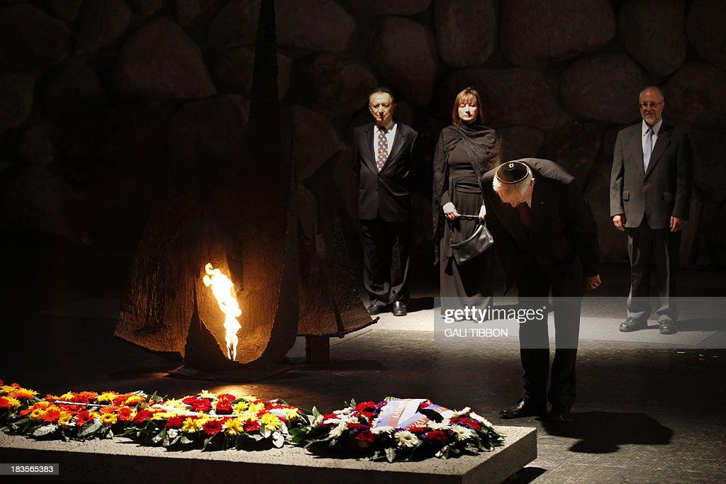 ISRAEL-CZECH-DIPLOMACY-HOLOCAUST : News Photo