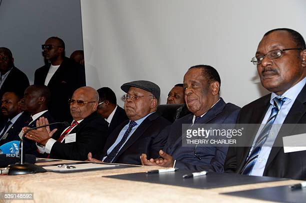 President of the Democratic Republic of Congo opposition party Union for Democracy and Social Progress Etienne Tshisekedi brother of Moise Katumbi...