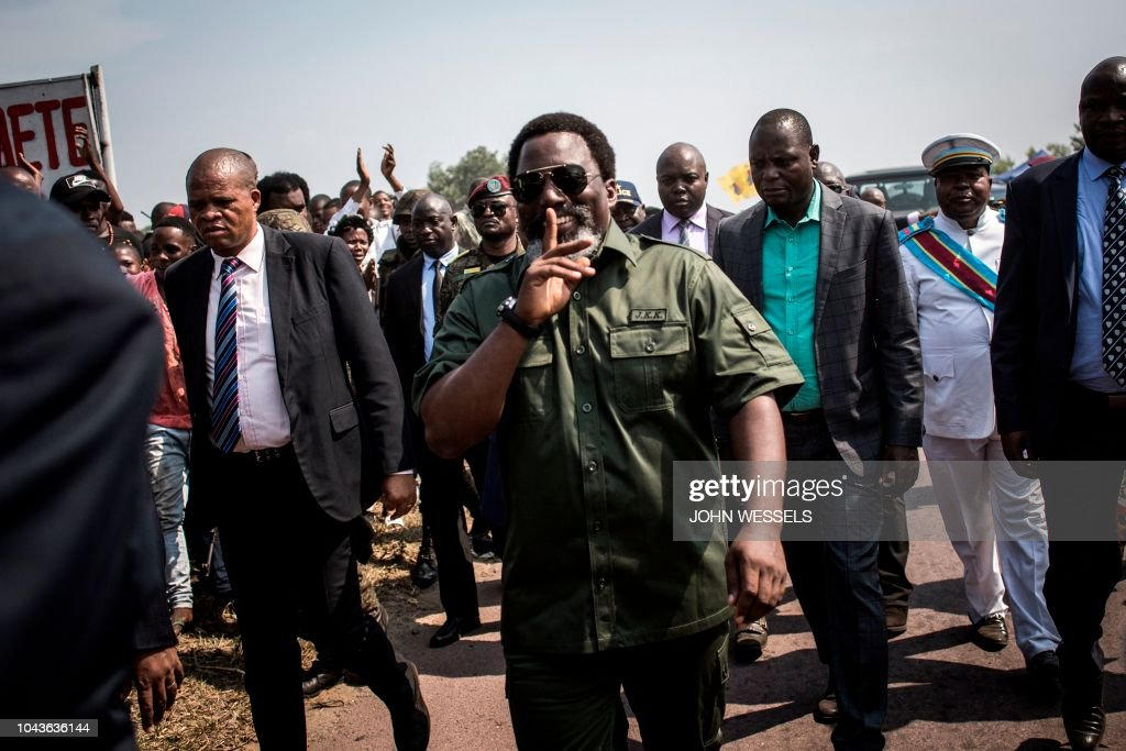DRCONGO-POLITICS-POACHING-ENVIRONMENT : News Photo