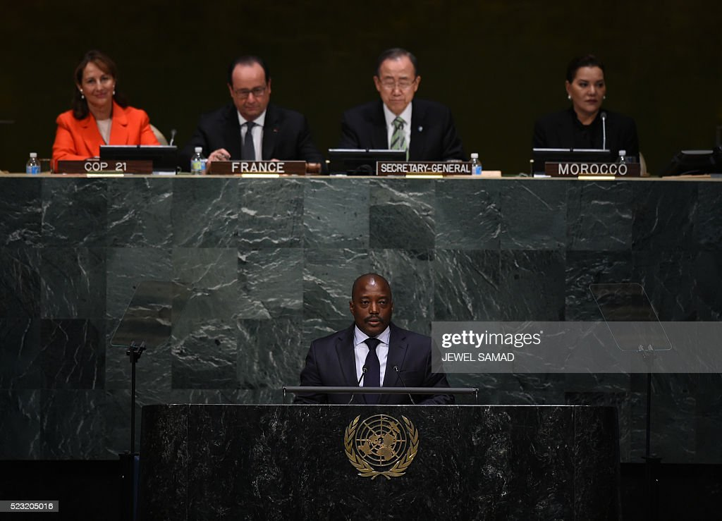 UN-CLIMATE-DIPLOMACY : News Photo