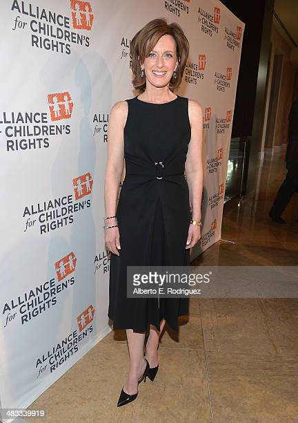 President of the DisneyABC Television Group Anne Sweeney arrives to The Alliance for Children's Rights 22nd Annual Dinner at The Beverly Hilton Hotel...