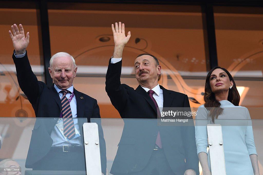Closing Ceremony: Baku 2015 - 1st European Games : Nachrichtenfoto