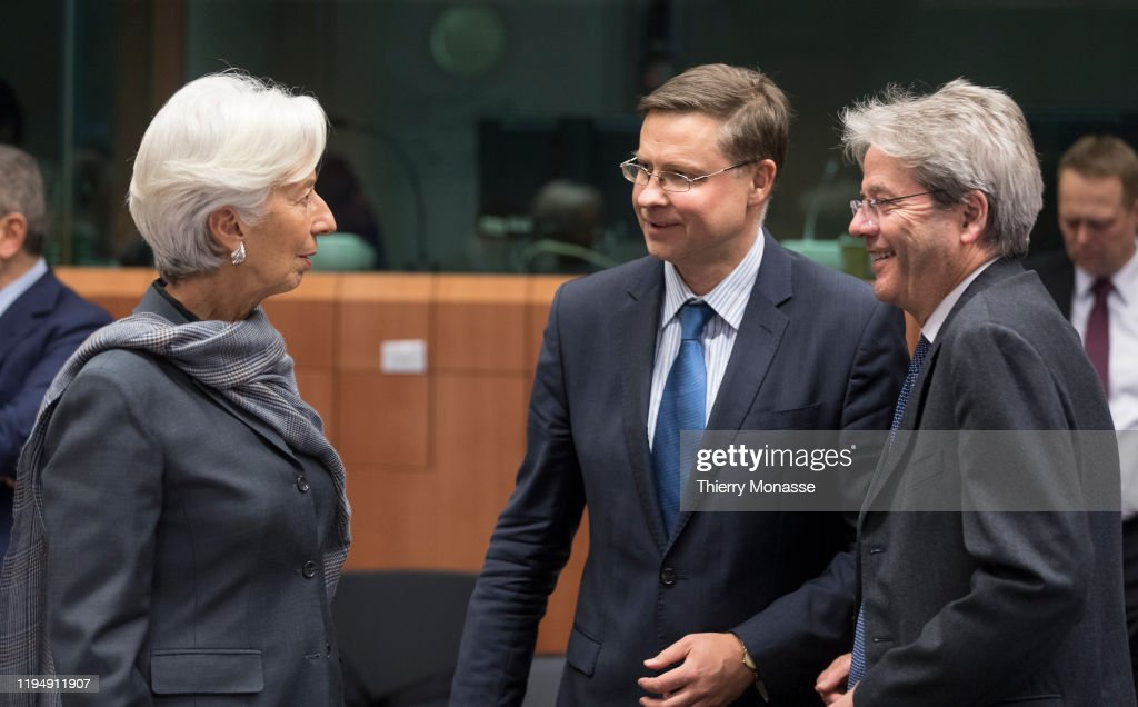 Extended EU Eurogroup Ministers Meeting : ニュース写真