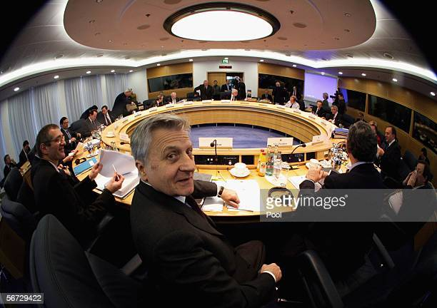 President of the European Central Bank Jean-Claude Trichet is seen during the monthly meeting at ECB Headquarters February 2, 2006 in Frankfurt,...