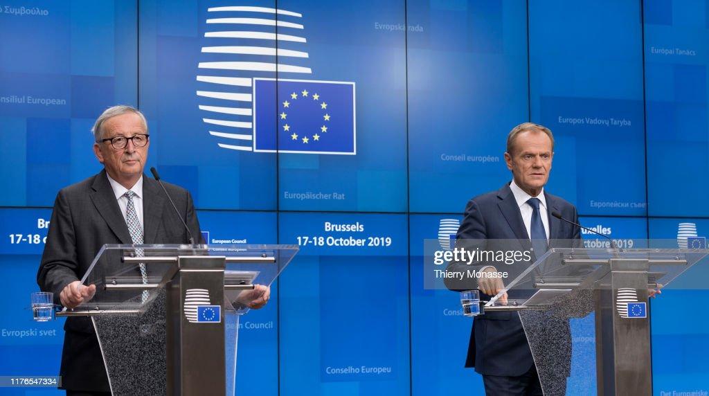 Leaders Attend European Council Meeting : News Photo