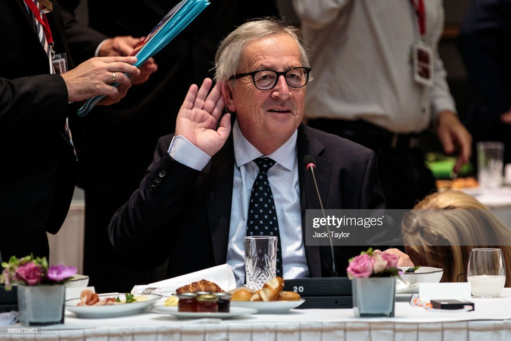 Political Leaders Attend The July 2018 EU Council Meeting - Day Two : News Photo