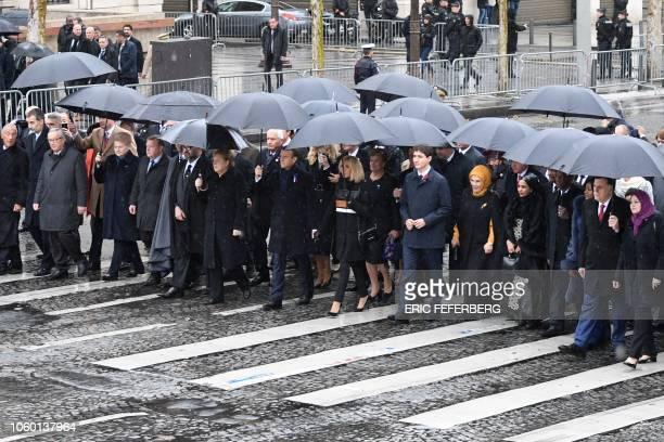 President of the European Commission Jean-Claude Juncker, Lithuania's President Dalia Grybauskaite, Denmark's Prime Minister Lars Lokke Rasmussen,...