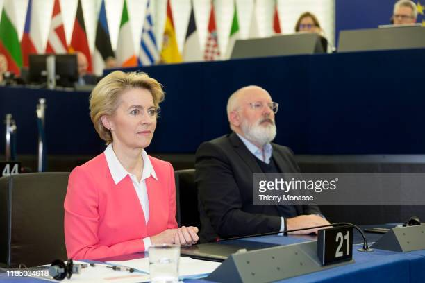 President of the European Commission Ursula von der Leyen and the EU Commissioner for European Green Deal First Vice President and Executive Vice...