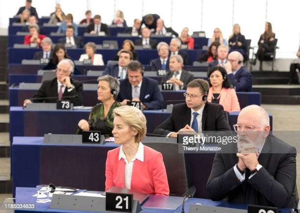 President of the European Commission Ursula von der Leyen EU Commissioner for European Green Deal First Vice President and Executive Vice President...